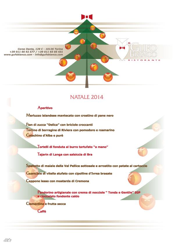 Menù del pranzo di Natale 2014 : Al gufo bianco – cucina tipica ...